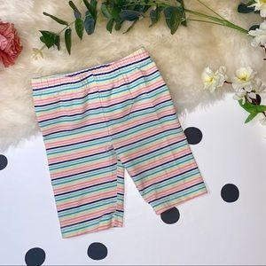 🧸5 FOR $20🧸CARTER'S Striped Capri Leggings - 4T